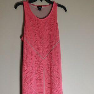 MOSSIMO Pink Summer Maxi Dress